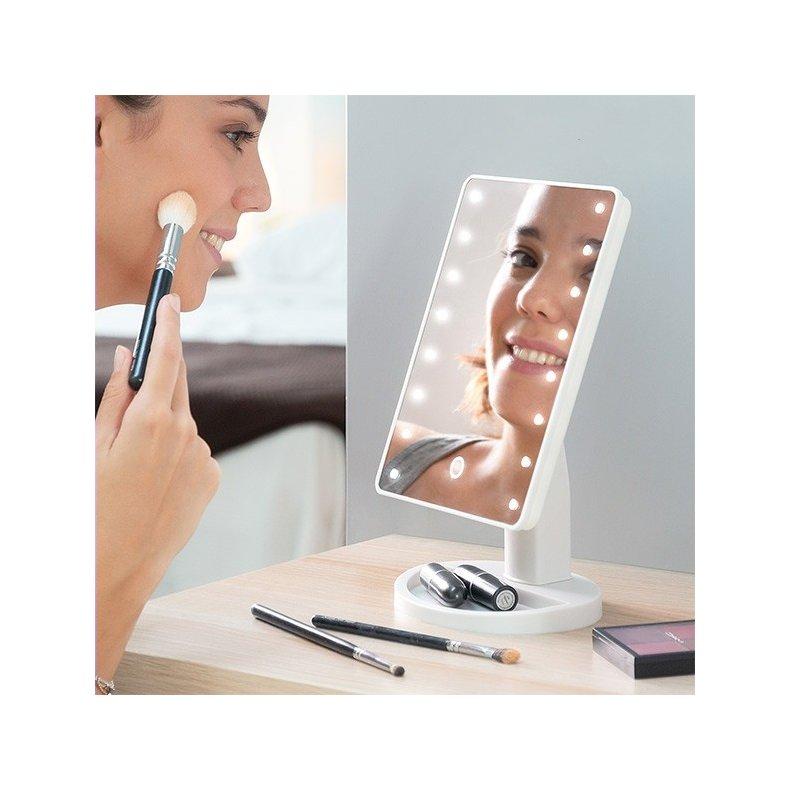LED bordspejl
